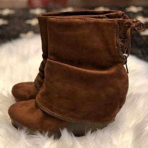 Not Rated Wedge Bootie